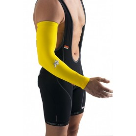 ARM WARMERS ROUBAIX YELLOW