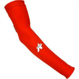ARM WARMERS ROUBAIX RED